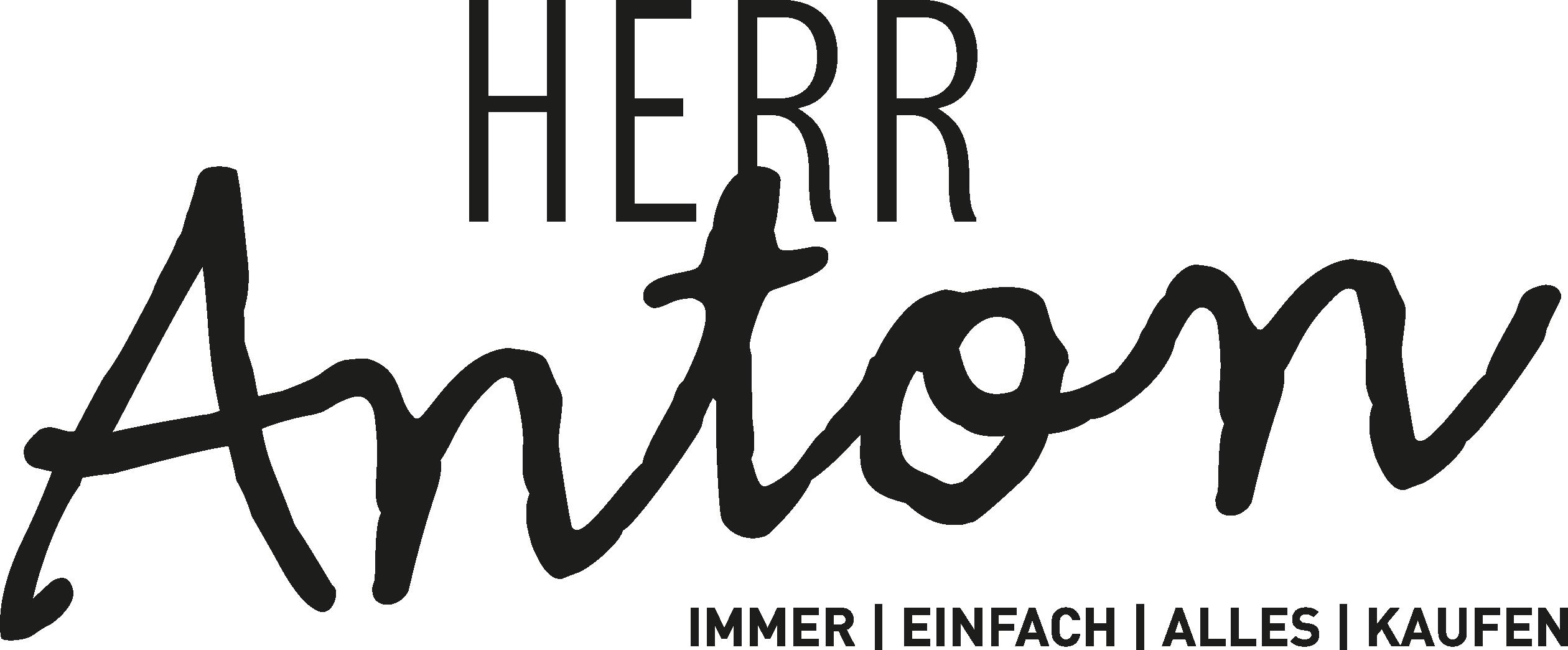 Herr Anton | Einkaufen am Automaten Logo